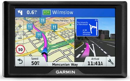 Garmin Drive 51LMT-S 5 Inch Sat Nav with Lifetime Map Updates for UK and Ireland